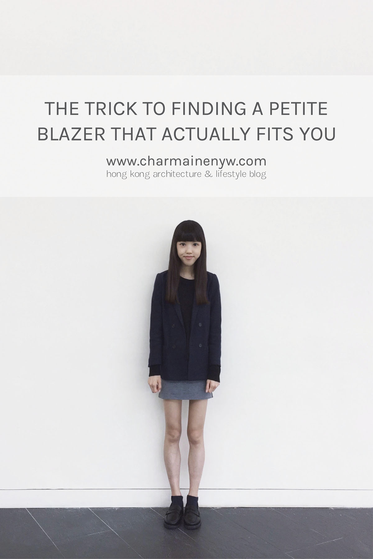 Here's where to find a petite blazer that actually fits you