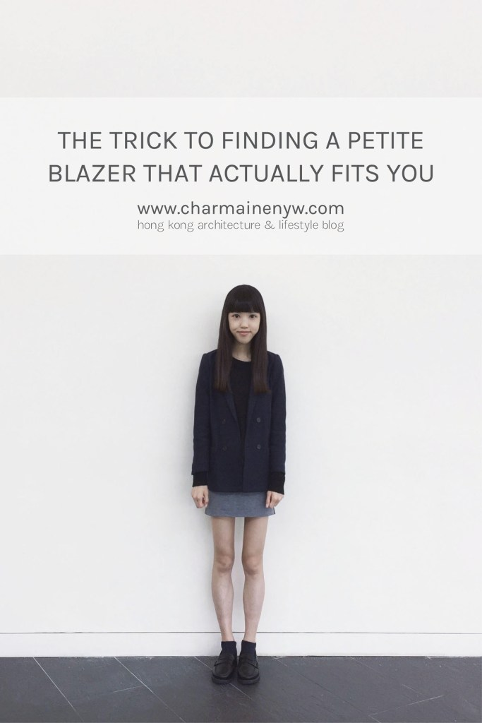 The Trick to Finding a Petite Blazer That Actually Fits You