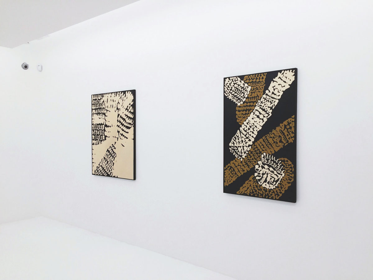 Solo exhibition of Masatoshi Masanobu at Axel Vervoordt Gallery in Central, Hong Kong