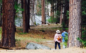 Couple savors Yosemite's beauty