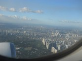 view departing from manila