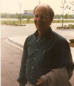 Photo of Raymond Benton, Jr. at the 1995 CHARM Conference