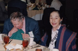 Photo of Stan and Selma Hollander, CHARM 1999