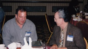 Photo of John Solow and Rick Pollay at CHARM 2001
