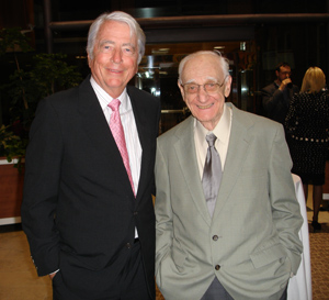 Mel Goodes poses with D.D. Monieson