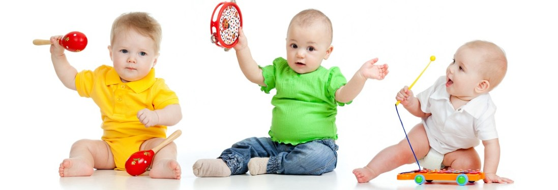 Pediatric therapy - Babies playing