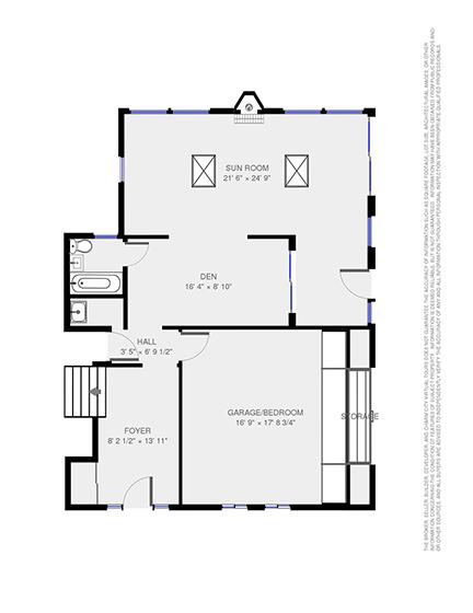 Completed Floor Plan