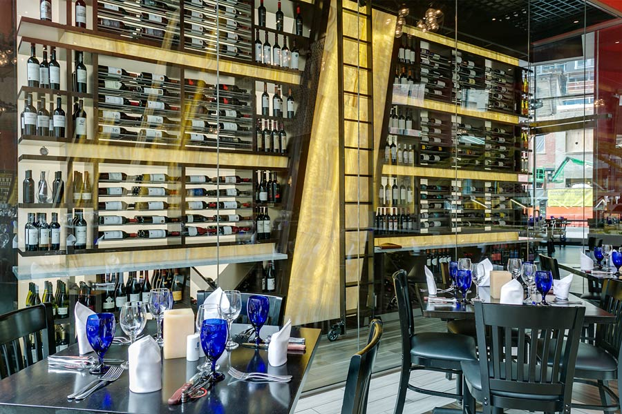 Restaurant Wine Room in Washington DC