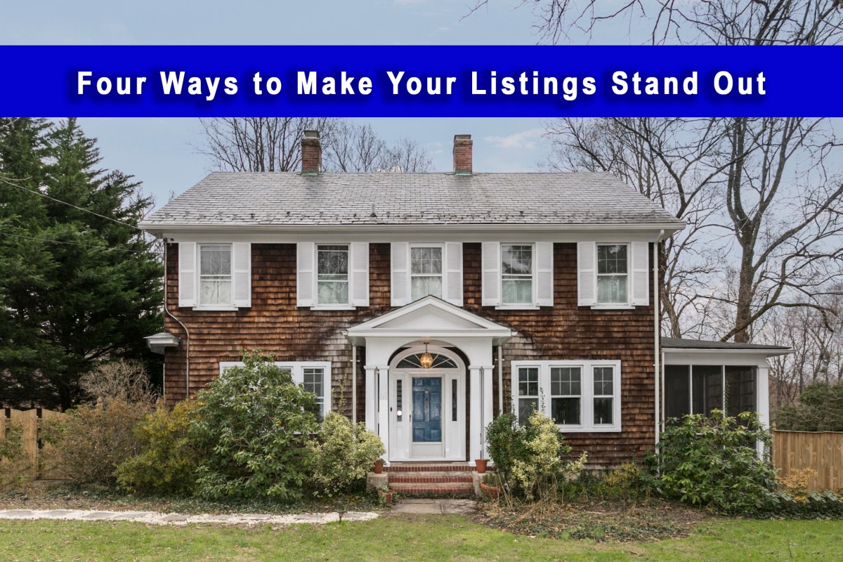 make your listings stand out in the Baltimore area