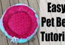 Pet Bed Sewing Tutorial