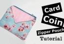 Card Coin Zipper pouch