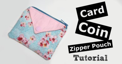Card Coin Zipper pouch