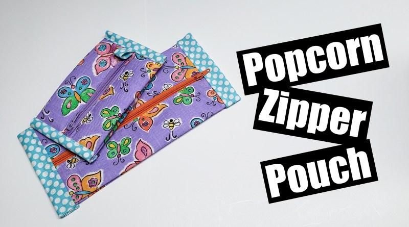 Popcorn Zipper pouch