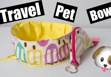 Travel Pet Bowl