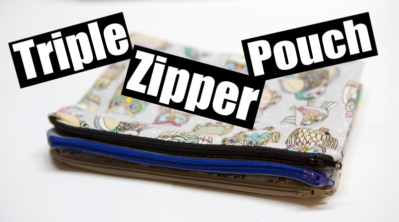 Accordian Zipper Pouch
