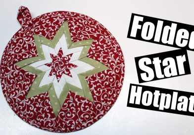 Folded star hot plate