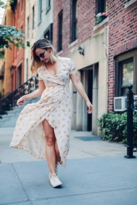 Floral Wrap Dresses   Charmed by Camille