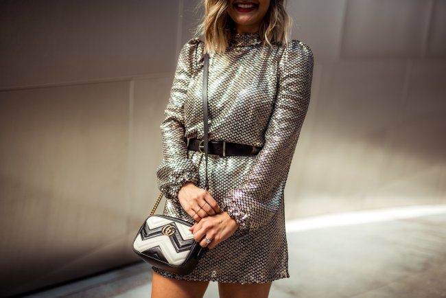Sequin Dress | Charmed by Camille