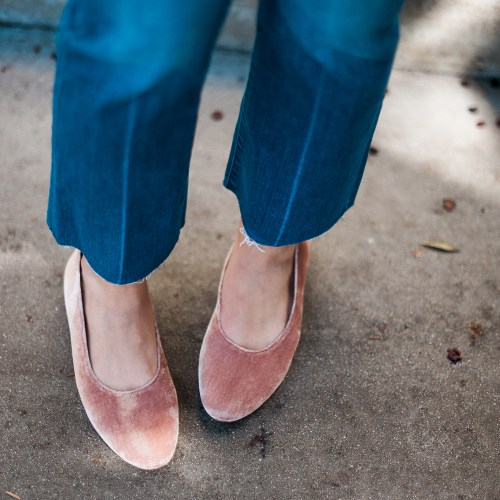 Velvet Shoes | Charmed by Camille