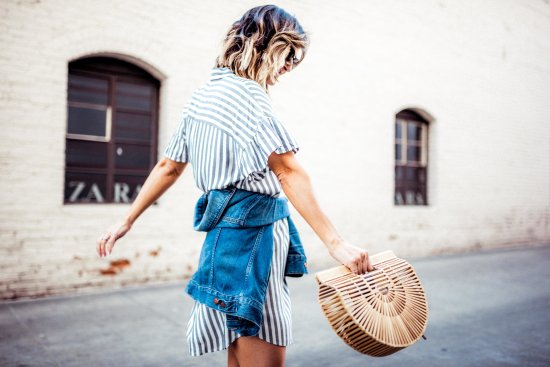 Striped Shirtdresses for Spring and Summer | Charmed by Camille