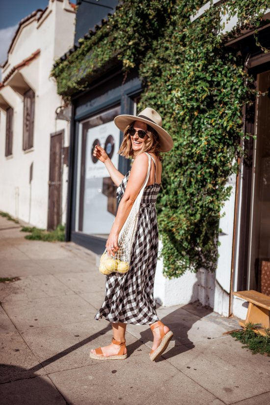 Gingham Dress | Charmed by Camille
