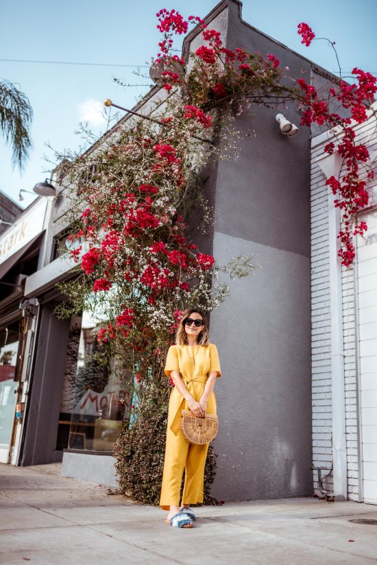 Mustard Yellow Jumpsuits | Charmed by Camille