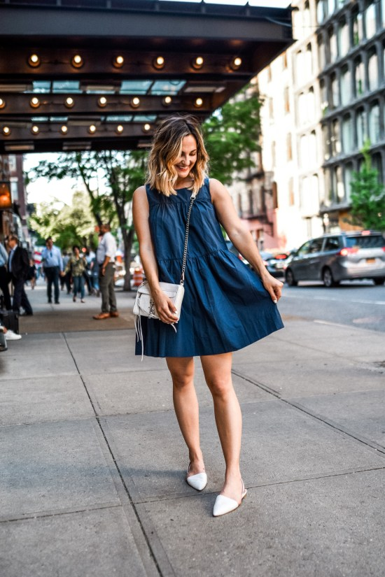 Blue Dress | Charmed by Camille