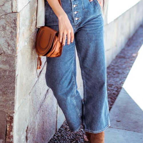 Wide Leg Jeans for Fall | Charmed by Camille