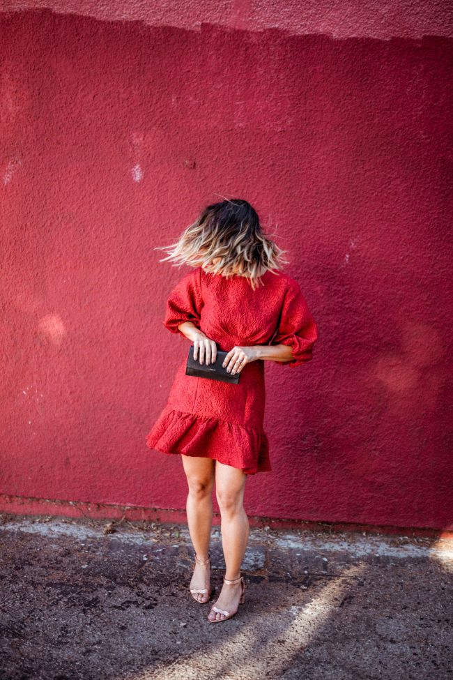 Red Dress | Charmed by Camille