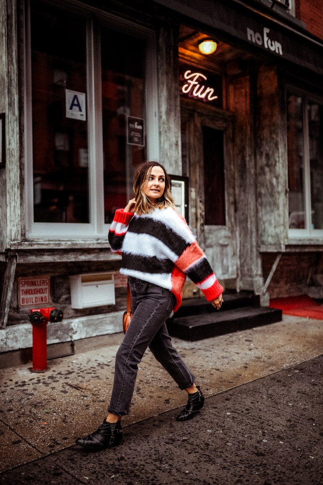 Striped Sweater | Charmed by Camille