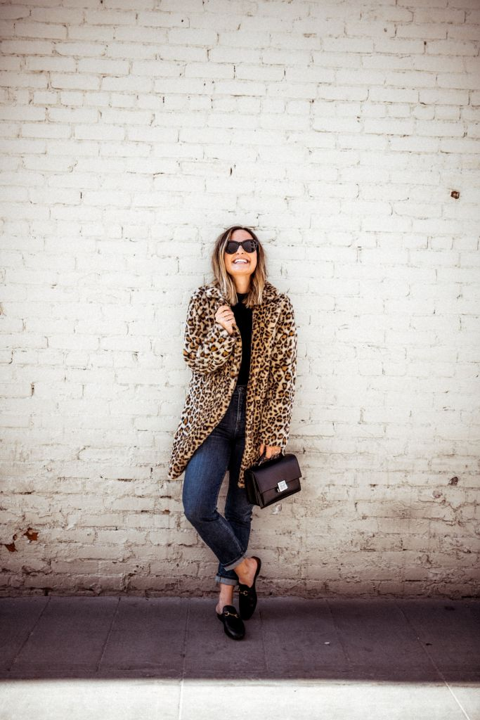 Leopard Coat | Charmed by Camille