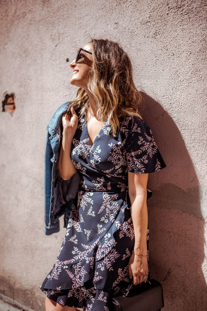 Affordable Floral Dress   Charmed by Camille