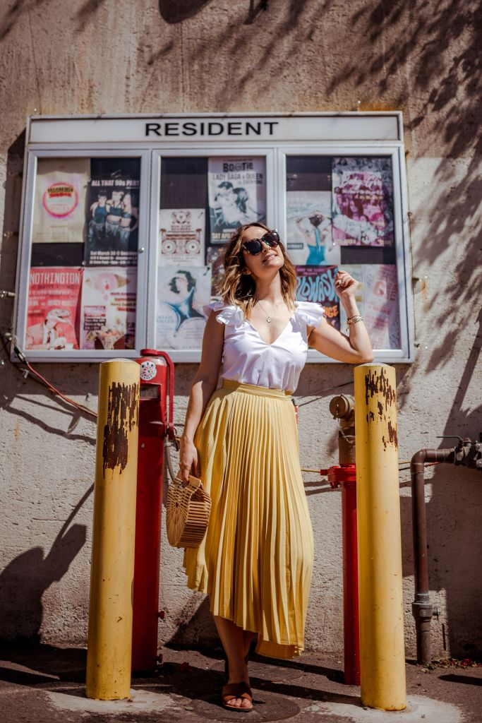 Yellow Skirt | Charmed by Camille