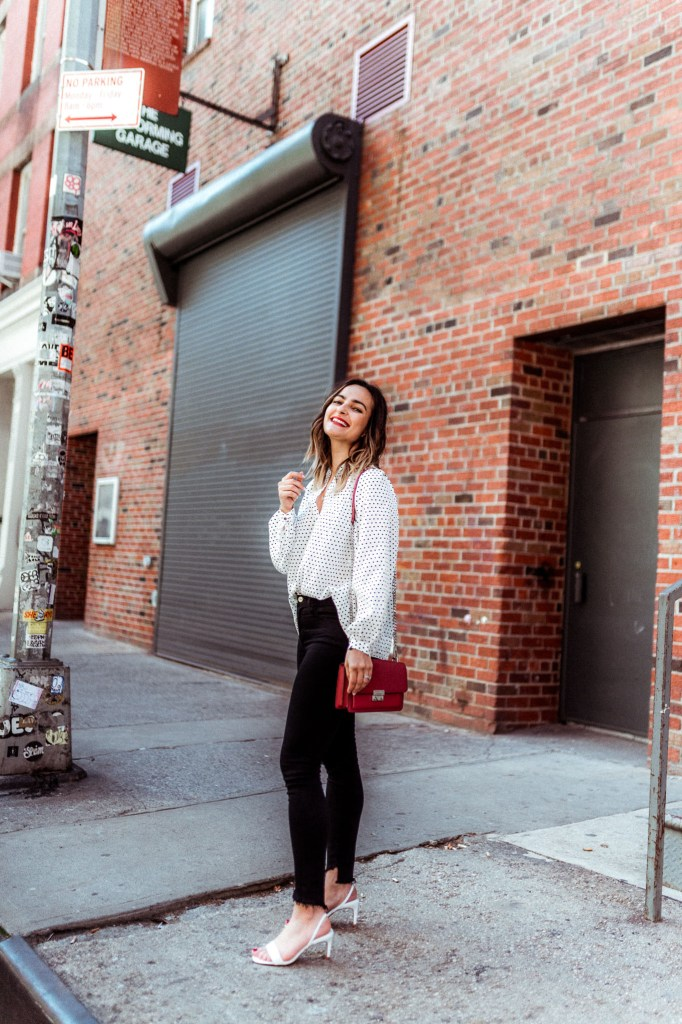 Black and White Outfit | Charmed by Camille