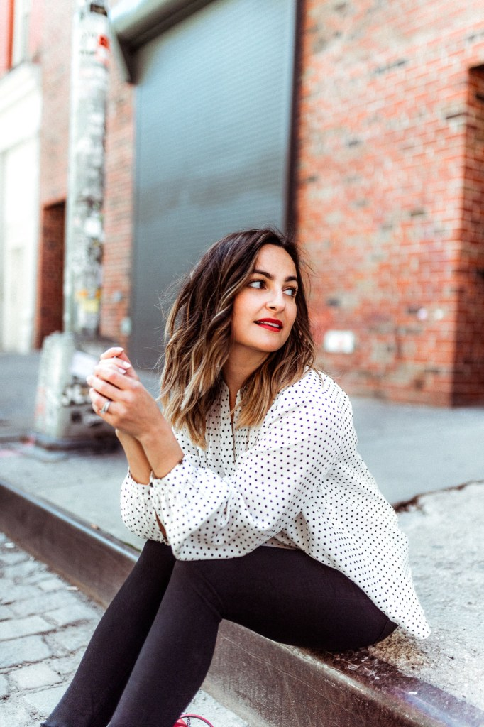 Spring's Best Black and White Polka Dot Pieces | Charmed by Camille