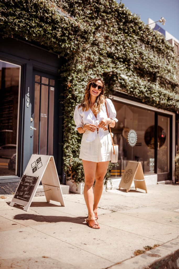 The Perfect All-White Set for Summer | Charmed by Camille