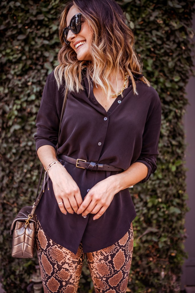 Simple Fall Outfit | Charmed by Camille