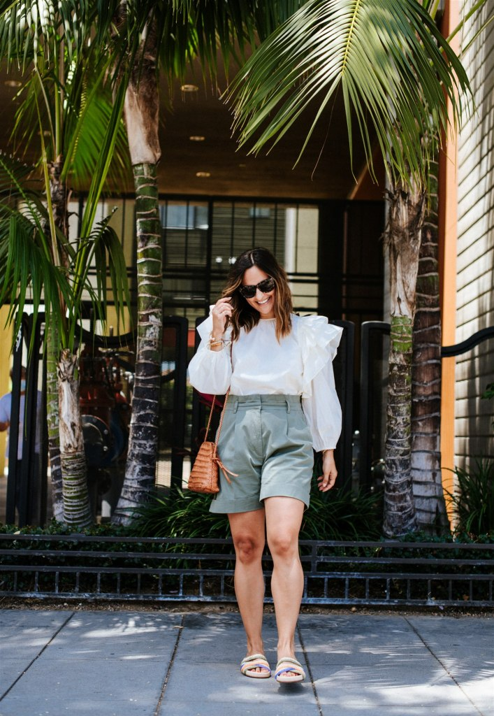 27 Cute White Summer Tops | Charmed by Camille