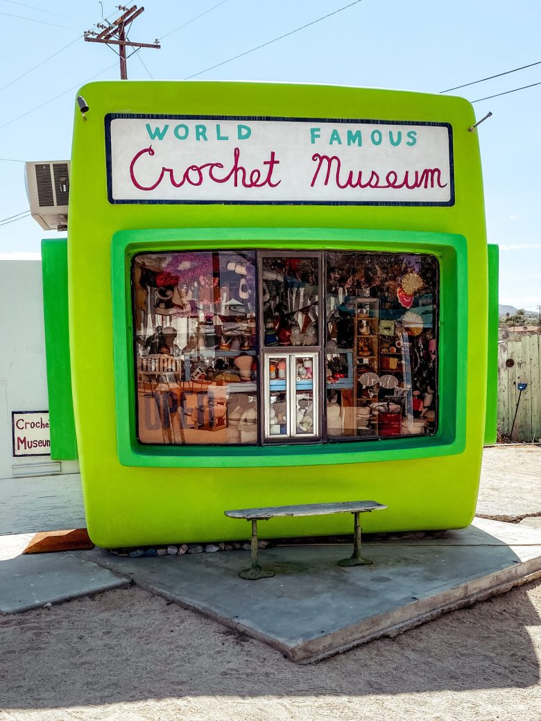 Joshua Tree Crochet Museum | Charmed by Camille