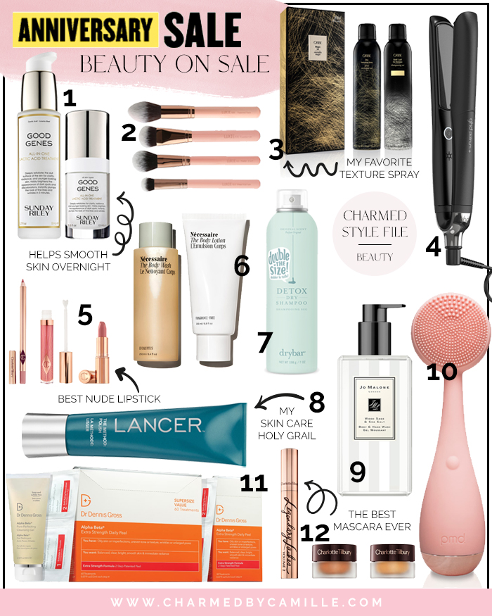 2020 Nordstrom Anniversary Beauty Picks | Charmed by Camille