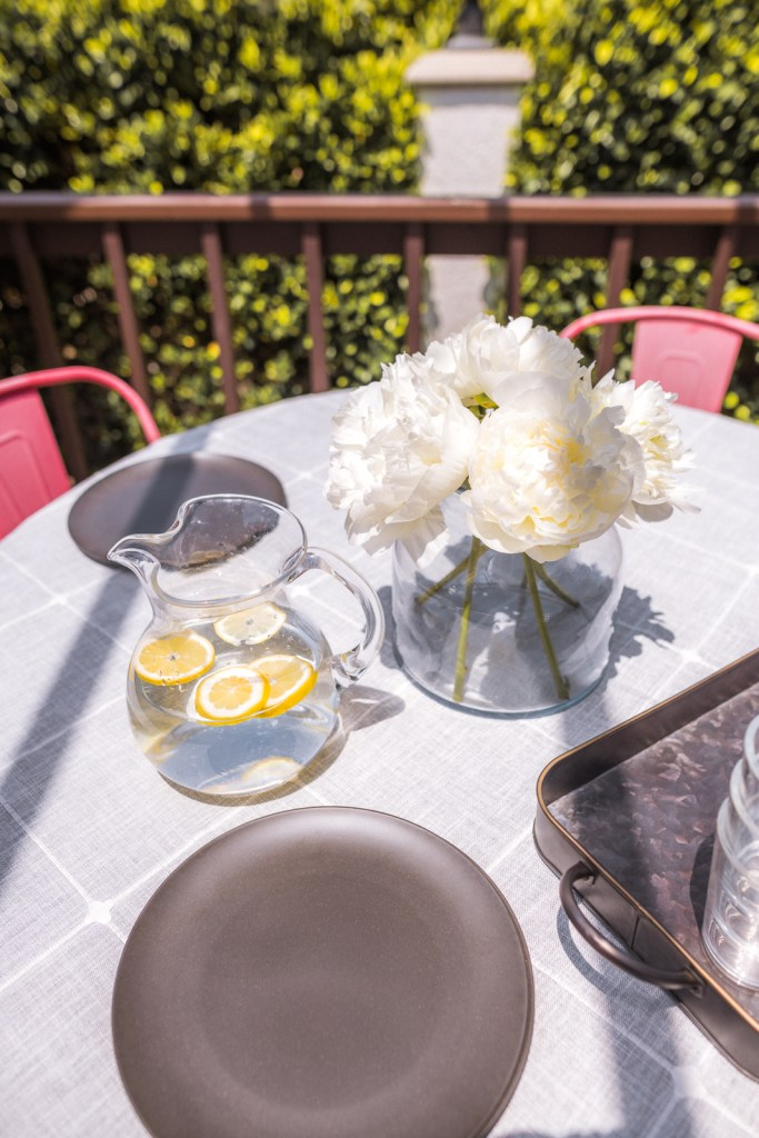 My Favorite Outdoor Dining Table Decor Ideas Under $50   Charmed by Camille
