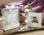 """Let Your Heart Decide"" Jeweled Frosted-Glass Photo Frame"