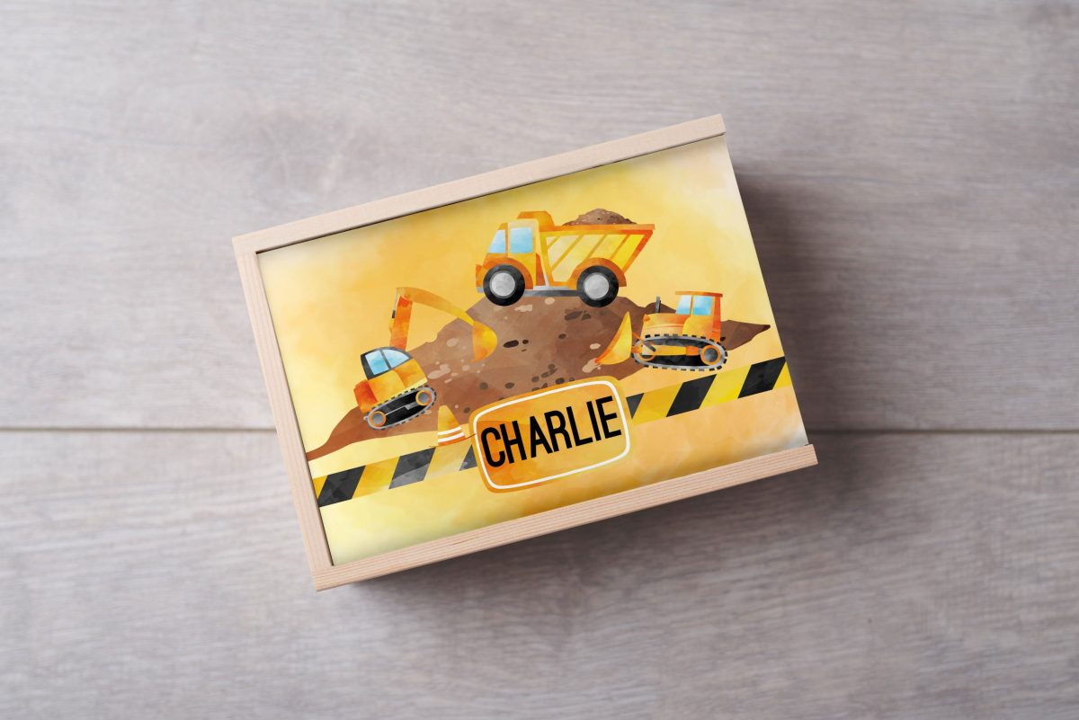 Construction-Name-Keepsake-Box-Large