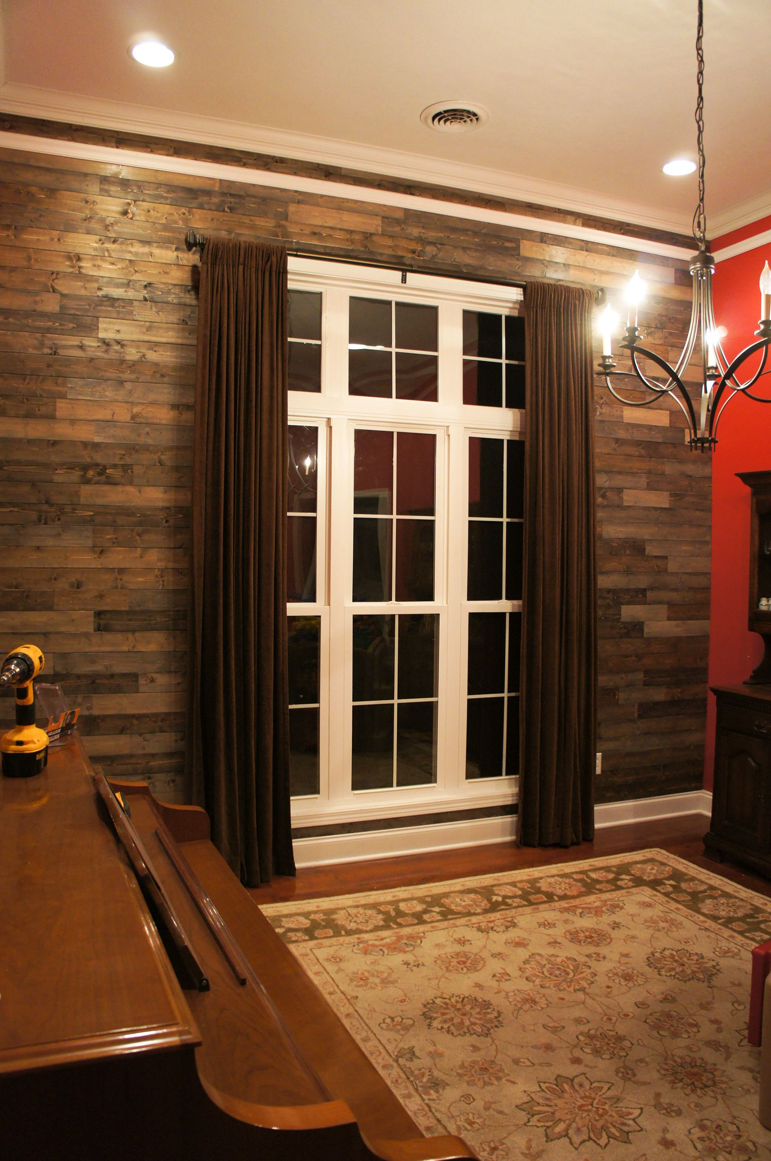 Palletless PALLET Wall : Dining Room | Charming-Ollie on Pallet Room  id=17979