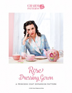 Rose Dressing Gown Patreon pattern by Gertie