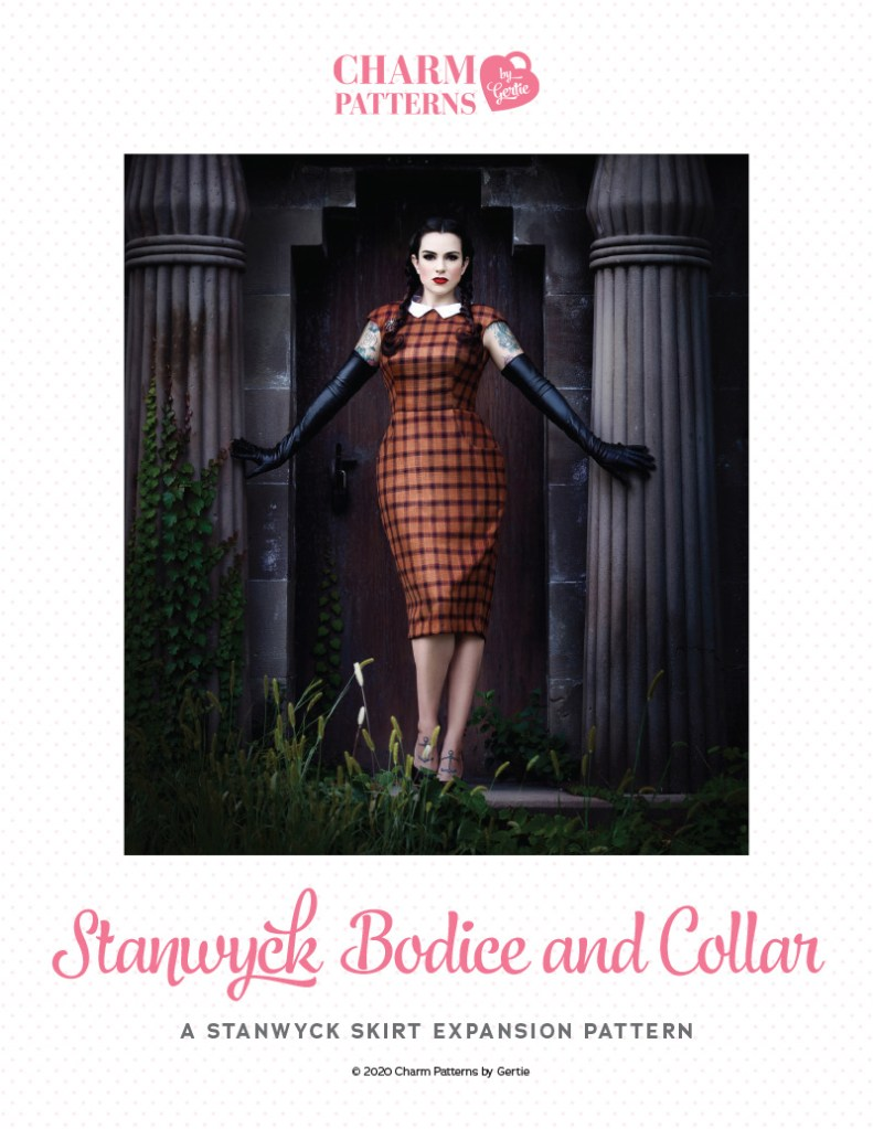 Stanwyck Bodice and Collar Patreon pattern by Gertie