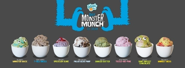 Sweet Treats Disgustingly Delicious Dot Monster Munch, Summer Kids Sweet Treats Disgustingly Delicious Dot Monster Munch Ice Cream Flavors