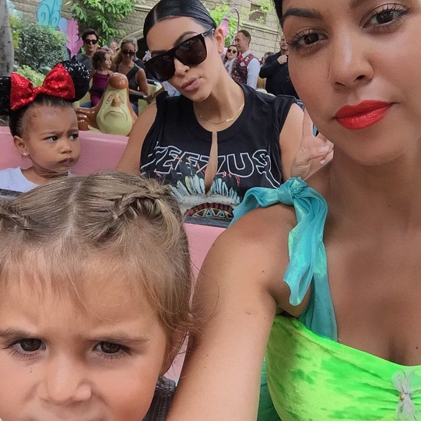 Big time outtings include trips to Disney to celebrate Pe's birthday party.