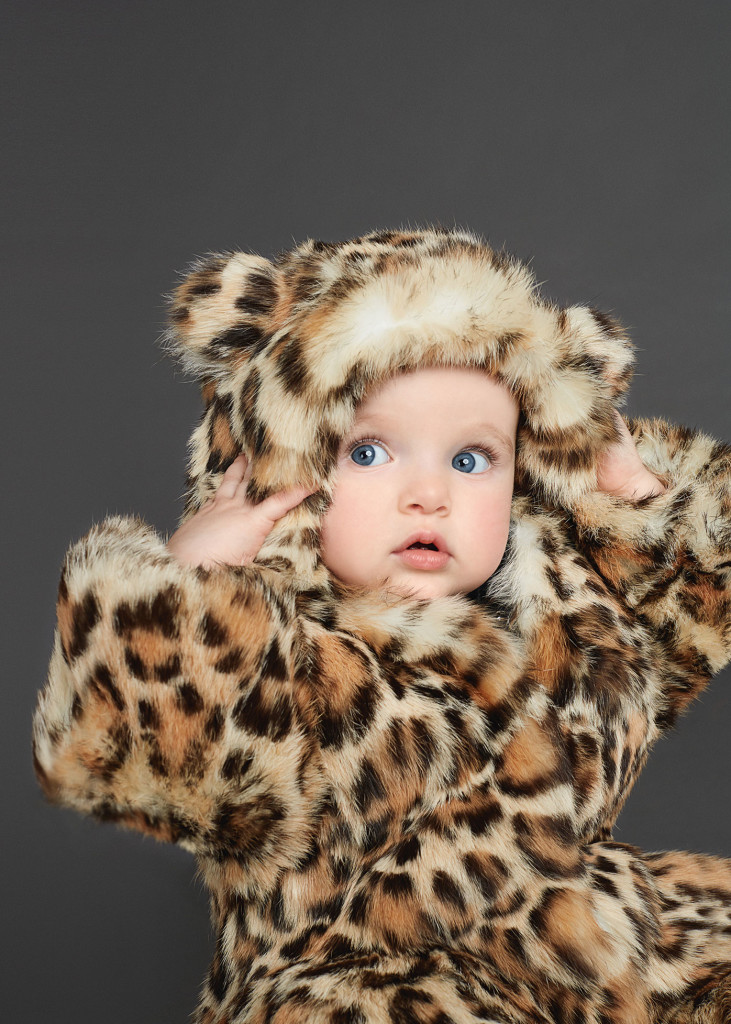 Baby Girl Clothes Dolce and Gabbana Winter 2016 Leopard Cover CharmPosh
