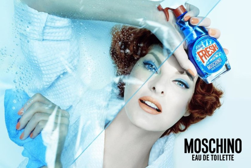 Moschino's Windex-Inspired Fragrance For Moms CharmPosh